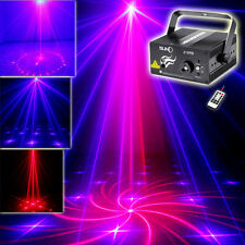 SUNY Z18RB Xmas 18 Gobo Blue Red Laser Stage DJ Party Home Decoration Xmas Light