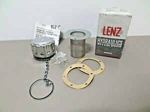 Lenz 57XL-40 Hydraulic Tank Filler / Strainer Assembly With Cap