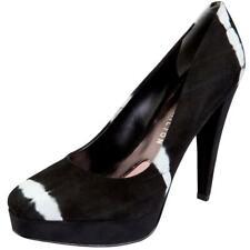 Paris Hilton Footwear - Reese - Black Seashell Suede