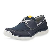 Mens Clarks Cloudsteppers Lace up Casual Shoes Marus Edge UK 10 Navy G