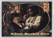 1999 Skybox Wild West The Movie Gordon's Gadgets #G7 Silver Buckle Gun Card 2q1