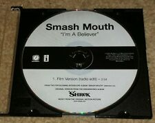 Smashmouth I'm A Believer SHREK radio station dj Promo Single 2001 monkees cover