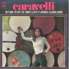 CARAVELLI EP Spain 1969 Hey Jude ( THE BEATLES ) +3