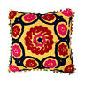 Decorative Indian 16X16 Embroidery Vintage Cotton Cushion Cover Throw Cases Boho