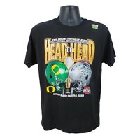 Ohio State Buckeyes Vs. Oregon Ducks Men's M Medium 2015 Playoff T-Shirt Black