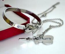 High quality Jewelry suit necklace bracelet sets titanium Little bear bracelet