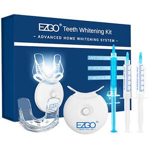 Teeth Whitening Kit Tooth Whitener Bleaching Professional System 3 Gel+LED Light