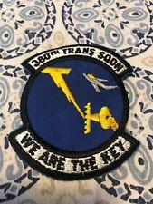 "Rare Vtg 70s 80s 380th Transportation Squadron Patch 3"" USAF Plattsburgh AFB NY"