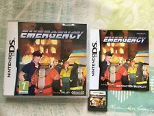 Emergency for Nintendo DS 2DS 3DS Game Complete - Hold Your Nerve!