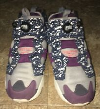 Mens Reebok Fury Insta Pump Instapump Shoes Limited Size 10 Blue Splatter Men's