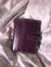 Filofax Pocket Size Malden Organizer Purple