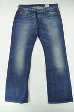 G-Star Jeans 3301 Correct WMN W34 L32 34/32 blau stonewashed Röhre Denim -C336