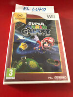 SUPER MARIO GALAXY WII NINTENDO SELECTS NEUF SOUS BLISTER VERSION FRANCAISE