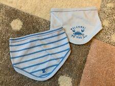 ESPRIT Baby Dreieckstuch Tuch Jersey Seepferdchen NEU