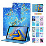 """For Samsung Galaxy Tab A 10.1"""" T510/T515 Folio Pattern Leather Stand Case Cover"""