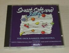 DICK BAKKER ORCHESTRA Sweet Soft and Juicy CD 1989 Toots Thielemans