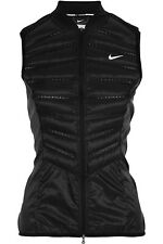 Nike | Black Aeroloft 800 Quilted Shell Down Vest | Size Medium | RRP £120