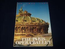 1988 The Paris Opera Ballet U. S. Tour Program - Great Photos - J 5070