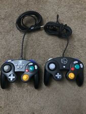 RARE 2 Controllers Black Super Smash Bros. Ultimate GameCube And Nintendo Switch