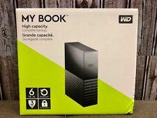 Western Digital My Book Desktop External Hard Drive, 6 TB - Black