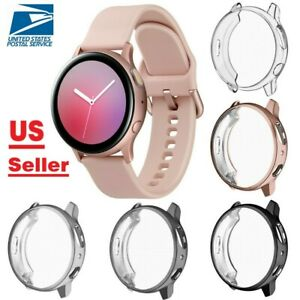 (3 Pack)For Samsung Galaxy Watch Active 2 40mm/44mm TPU Screen Protector case