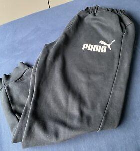 Black Puma Joggers Mens XL