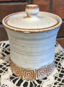 Los Artesanos Puerto Rico Pottery Crock with Lid Small Size FEB21