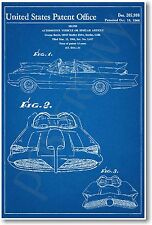 Batmobile Patent - NEW Vintage Invention Patent Poster