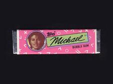 Michael Jackson Chewing Gum TOPPS Bubble Stick Pink Wrapper Kaugummi 1984 NEW