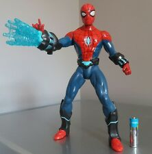 "Rare Ultimate Electro Web SpiderMan Large 10"" Figure lights sounds effects 2012"