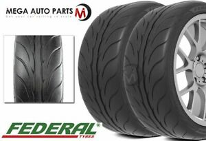 2 Federal 595RS-PRO 235/40ZR17 90W Extreme Performance 200AA Summer UHP Tires