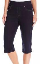 NEW Gloria Vanderbilt Women's Avery Pull On Skimmer Mid-Rise Capri Size 8