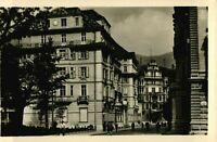 J. F. AMONN Vintage 1940s Hotel Laurin, Bolzano Bozen, Italy Real Photo Postcard