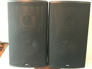 Boston Acoustics CR7 Black Pair Bookshelf Loud Speakers 100 Watts