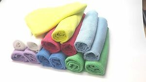 ULTRA MICROFIBER Lens, Screen & Glass Cleaning Cloths with Nylon Blend (14 PACK)