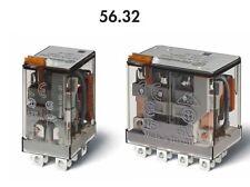 FINDER 56.32.8.012 RELE' INDUSTRIALE 12A - 250V - 12Vac - 2 CONTATTI