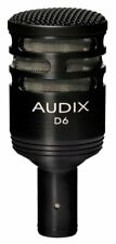 Audix D6 Dynamic Cable Professional Microphone