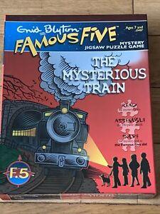 Enid Blyton's Famous 5 The Mysterious Train 250 Piece Jigsaw Puzzle
