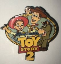 Disney Store Pin Toy Story 2 Jessie Woody Bullseye 100th Dreams