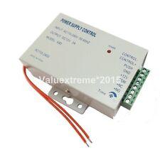 AC110-240V DC12V fuente de alimentación Entrada de cerradura de puerta sistema de control de acceso RFID K80-UK