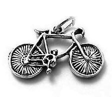 925 Sterling Silver 10 Speed Bike Charm