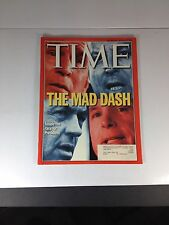 Time Magazine January 31, 2000 The Mad Dash, Inside The Race For President, Mint