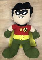 "DC Comic Toy Factory Robin Super Friends 14"" Stuffed Batman Friend Plush Doll"