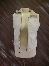 American Eagle Vest White Shelter Series Fur Lined  Women's Size S/P