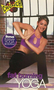 CRUNCH FAT BURNING YOGA ~ DVD Weight Loss Yoga