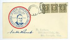 March 4, 1933 Franklin Roosevelt Inauguration FDC, Empire State Philatelic Ass'n