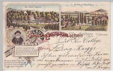 (107348) AK Gruss von Erichsruh am Benther Berg (Hannover), Mehrbild Litho 1901
