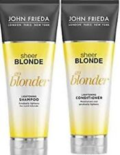 John Frieda Sheer Blonde Go Blonder Lightening Shampoo & Conditioner 250 ml each