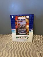 """1995 Budweiser Holiday Stein """"Lighting The Way Home"""" NIB~COA~Vintage~Clydesdales"""