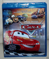 CARS-DISNEY-PIXAR-BLU-RAY-NUEVO-PRECINTADO-NEW-SEALED-ANIMACION DISNEY-INFANTIL